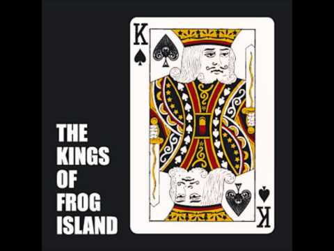 The kings of frog island ride a black horse