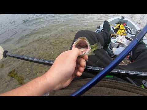 CANADA BIG BASS FISHING AT BASS LAKE IN BASS KAYAKS WITH BASSY INTRO