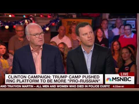 Mike Barnicle on Donald Trump's possible political alliance with Russia (26 July 2016)
