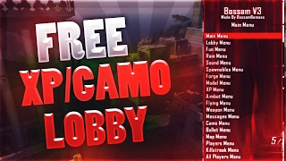 BO2 FREE MODDED XP AND CAMO LOBBIES!! (PS3) Live Stream Ep2