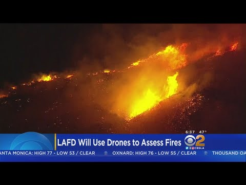 LAFD To Deploy Heat-Seeking Drones To Search For Hot Spots