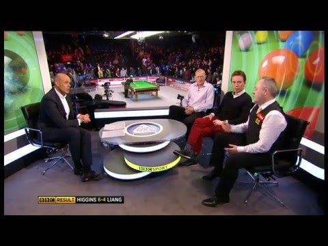 Snooker-The Masters 2016-Higgins Post-Match(R1)Interview