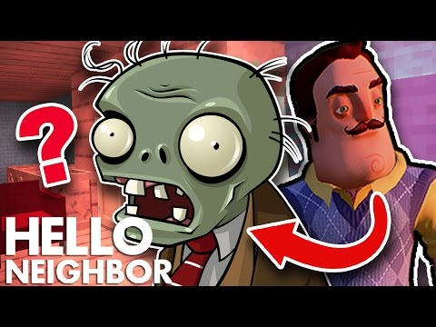 Minecraft Hello Neighbor -The Neighbor Is A Zombie (Minecraft Roleplay)