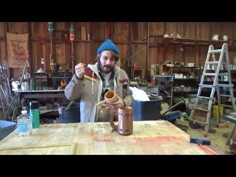 Wooden Beer Mug (Care & Tips) - Mean's Woodshop
