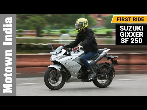 Suzuki Gixxer SF 250 | First Ride Review (English) | Motown India