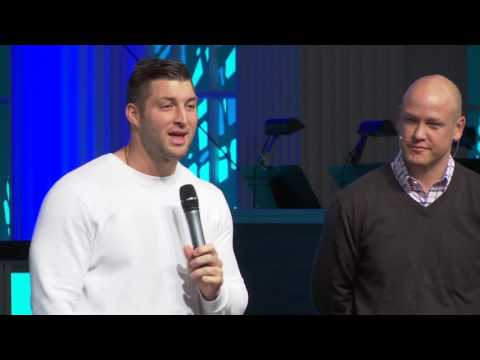 Tim Tebow at Family Church Downtown