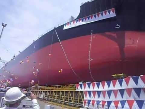 Tsuneishi (Cebu) Ship launching - 9/28/2012