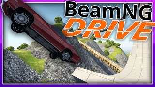 BeamNG.Drive :: SO MANY MORE JUMPS! (LEARN TO FLY) :: BeamNG Drive Funny Moments / Highlights