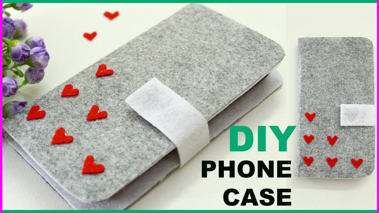 How to Make a Felt Phone Case How to Make a Felt Phone Case new pictures