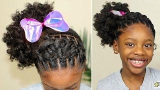 HAIR TRANSFORMATION! 💖 Kids Natural Hairstyle (BEGINNER FRIENDLY)