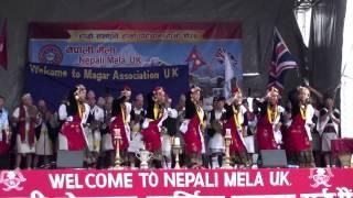 Magar Sangh Uk - NEPALI MELA DANCE COMPETITION 2015