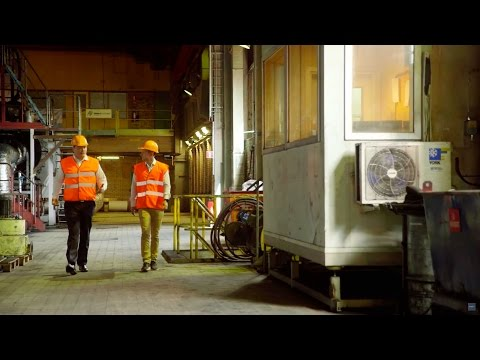 Däckåtervinning med Scandinavian Enviro Systems #HemmaHos - YouTube