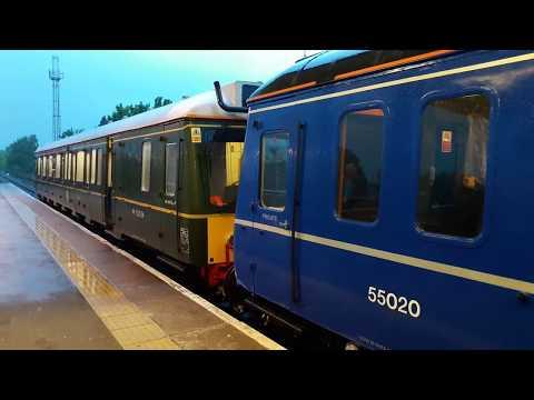 Last trip of Class 121034+121020 Bubble Car Farewell 19/05/2017