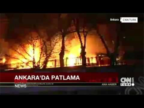 Large Explosion Target Military Buses in Turkish Capital of Ankara