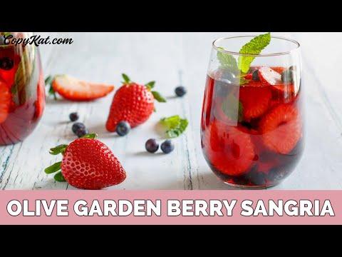 Olive Garden Berry Sangria Youtube