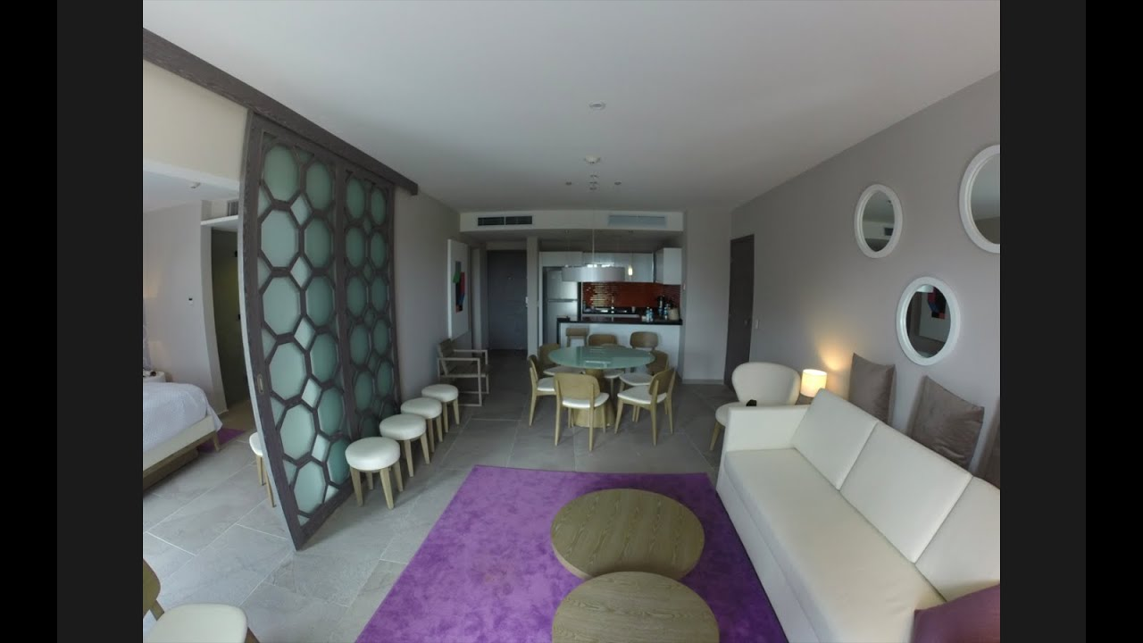 Azul Fives Hotel Room 5 Star Suite Youtube