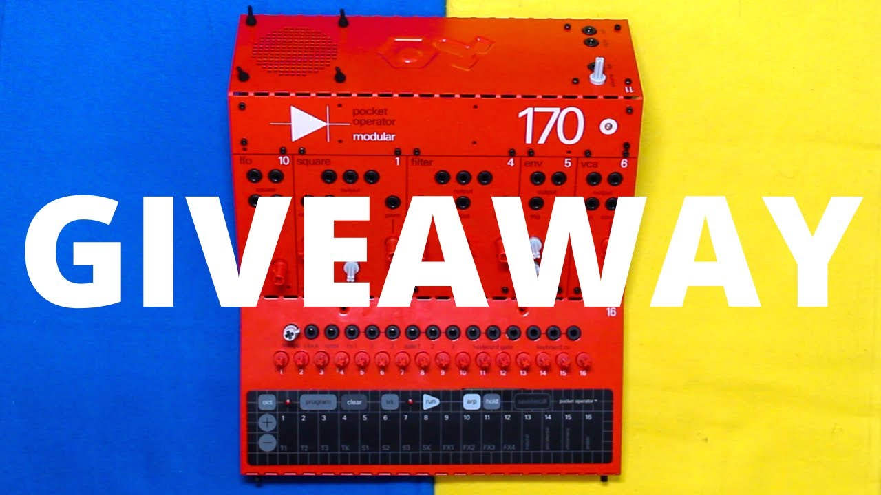 Pocket Operator Modular 170 GIVEAWAY! (Anyone can enter)