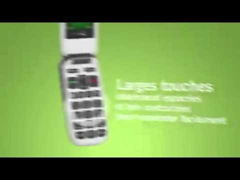 Biotone Technologie présente, le Téléphone GSM Doro PhoneEasy 610