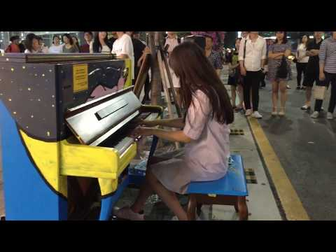 Canon in D- best street piano cover talent people around the world- TOP 4 MUST WATCH FOR CANON IN D