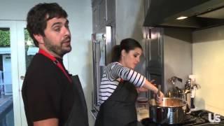 Shiri Appleby Shows Us How to Make Sloppy Joes With Fiance, Chef Jon Shook