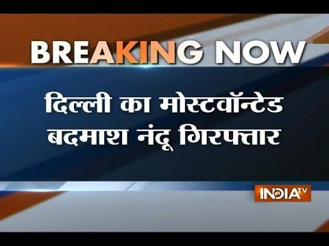 Wanted criminal Nandu aka Kapil Sangwan arrested in Jaipur
