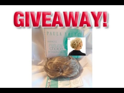Paula Young Charisma Hair Piece Addition Giveaway, Blonde Wig Reviews
