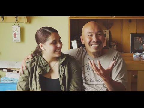 Francis Chan and his daughter Dellal