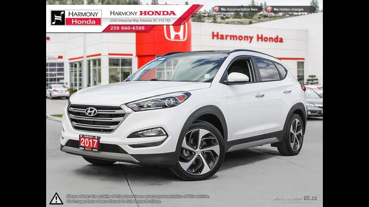 2017 Hyundai Tucson Se Harmony Honda White U5581 Kelowna Bc