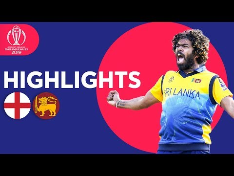 Malinga Stars In Big Upset! | England v Sri Lanka - Match Highlights | ICC Cricket World Cup 2019