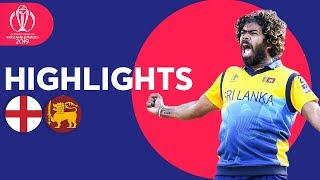 Download Malinga Stars In Big Upset! | England v Sri Lanka - Match Highlights | ICC Cricket World Cup 2019 Mp3 and Videos