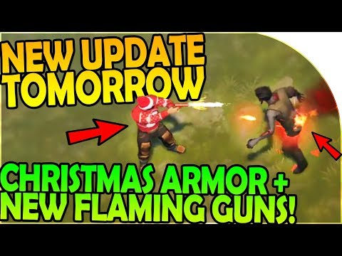NEW UPDATE 1.6.11 TOMORROW- NEW FLARE GUN, CHRISTMAS ARMOR- Last Day On Earth Survival 1.6.10 Update