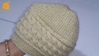 190- Gents Cap Knitting   टोपी की बुनाई