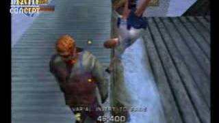 Tony Hawk's Pro Skater 3 (PS2) - Drunk Guy Peeing off Ramp. Funny