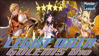 Light Odin Golems B10 Test - Monster Super League