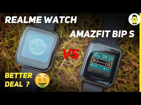 Amazfit Bip S Review & Comparison With Realme Watch | Best Smartwatch Under 5000?