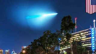 UFO sighting in California? US Navy says