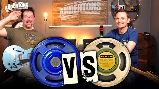 blueback vs greenback speakers can you hear the difference