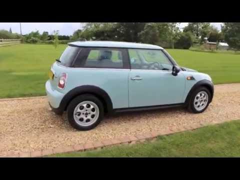 2011 Mini One Ice Blue Pepper Pack Youtube
