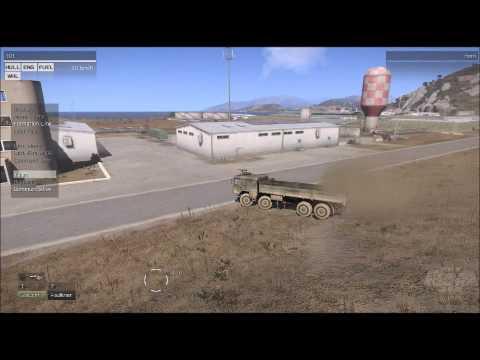 GAF MAN 10t truck ARMA3 Physx