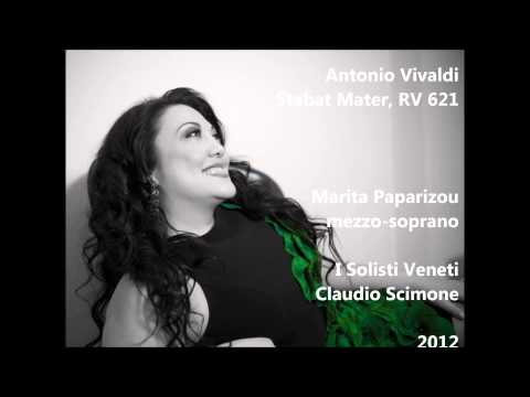 Antonio Vivaldi: Stabat Mater, RV 621 - Marita Paparizou, Claudio Scimone ( Audio video)
