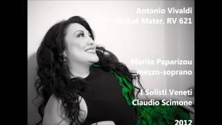 Antonio Vivaldi: Stabat Mater, RV 621 - Marita Paparizou, Claudio Scimone ( Audio video)