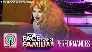 "Your Face Sounds Familiar: Melai Cantiveros as Cyndi Lauper - ""Girls Just Wanna Have Fun"""