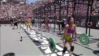2012 CrossFit Games - Women Final: Elizabeth, Heat 1, 2 & 3