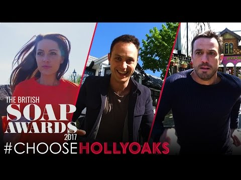 #ChooseHollyoaks at The British Soap Awards 2017