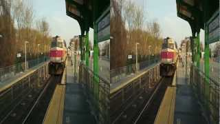 3D Train: MBTA Commuter Train (1006), Boston-Bound (Leominster, MA)