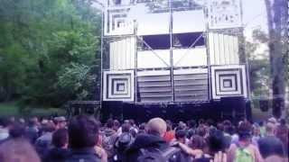 Atyss Live act @ ELEMENTS FESTIVAL 3 - Fort de Tamié - Albertville - 2012