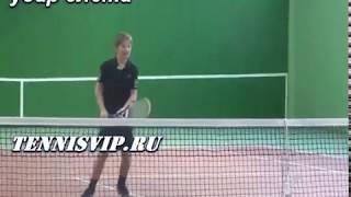 Теннис уроки. Удар слева, справа, подача, смеш...