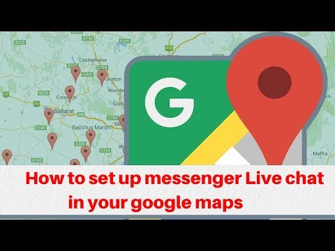How To Set Up Messenger Live Chat In Your Google Maps