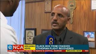 Black box from crashed Ethiopian Airlines plane found