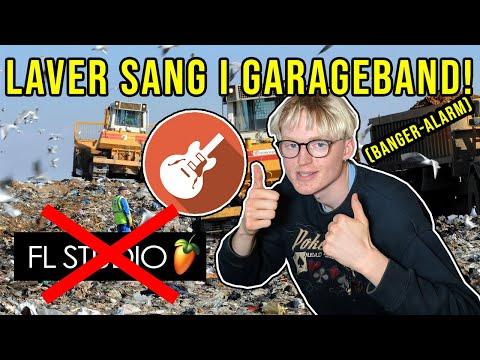 LAVER SYG TRAP I GARAGE BAND!??🤔 | PELSHAT PRODUCERER